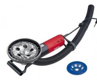 """Mała szlifierka do renowacji powierzchni, 125 mm """"LD 1709 FR, Kit PKD- talerz szlifierski"""